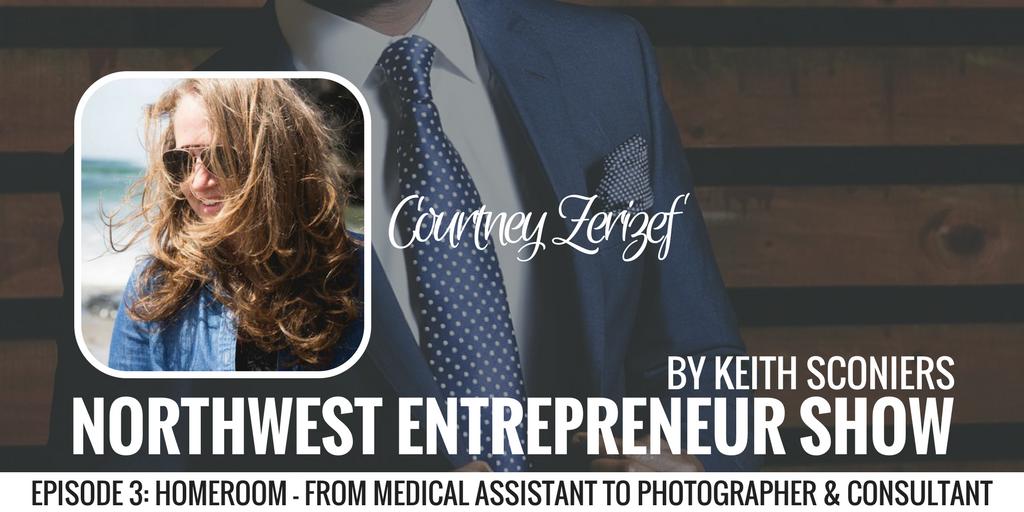Keith Sconiers; Courtney Zerizef; HomeRoom; Northwest Entrepreneur Show